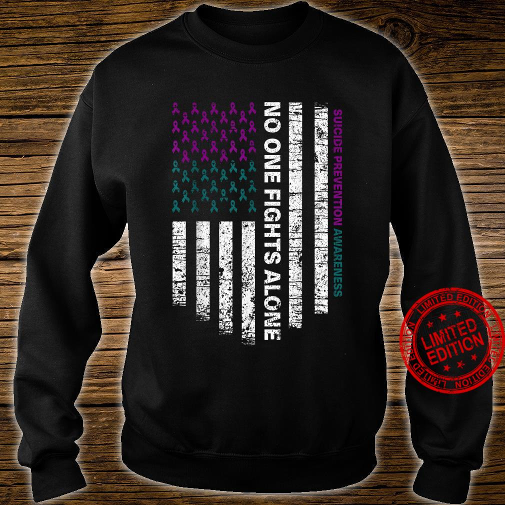 Suicide Prevention Awareness No One Fights Alone Shirt sweater