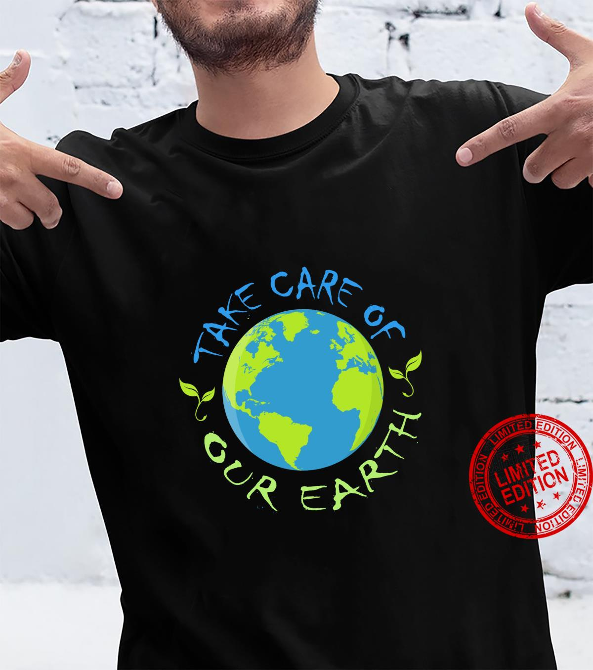 Take Care of our Earth Save My Planet Earth Day 51st Shirt