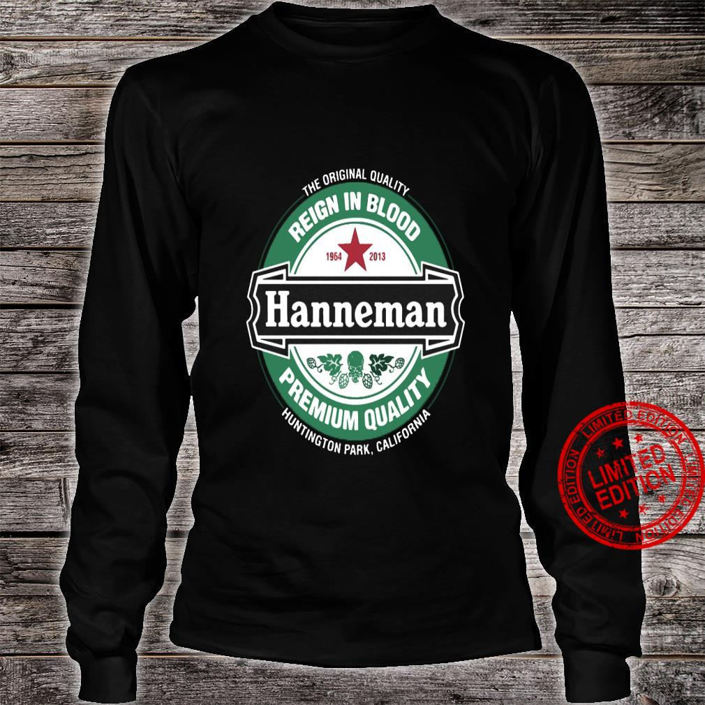 The Original Quality Reign In Blood Hanneman Premium Quality Shirt long sleeved