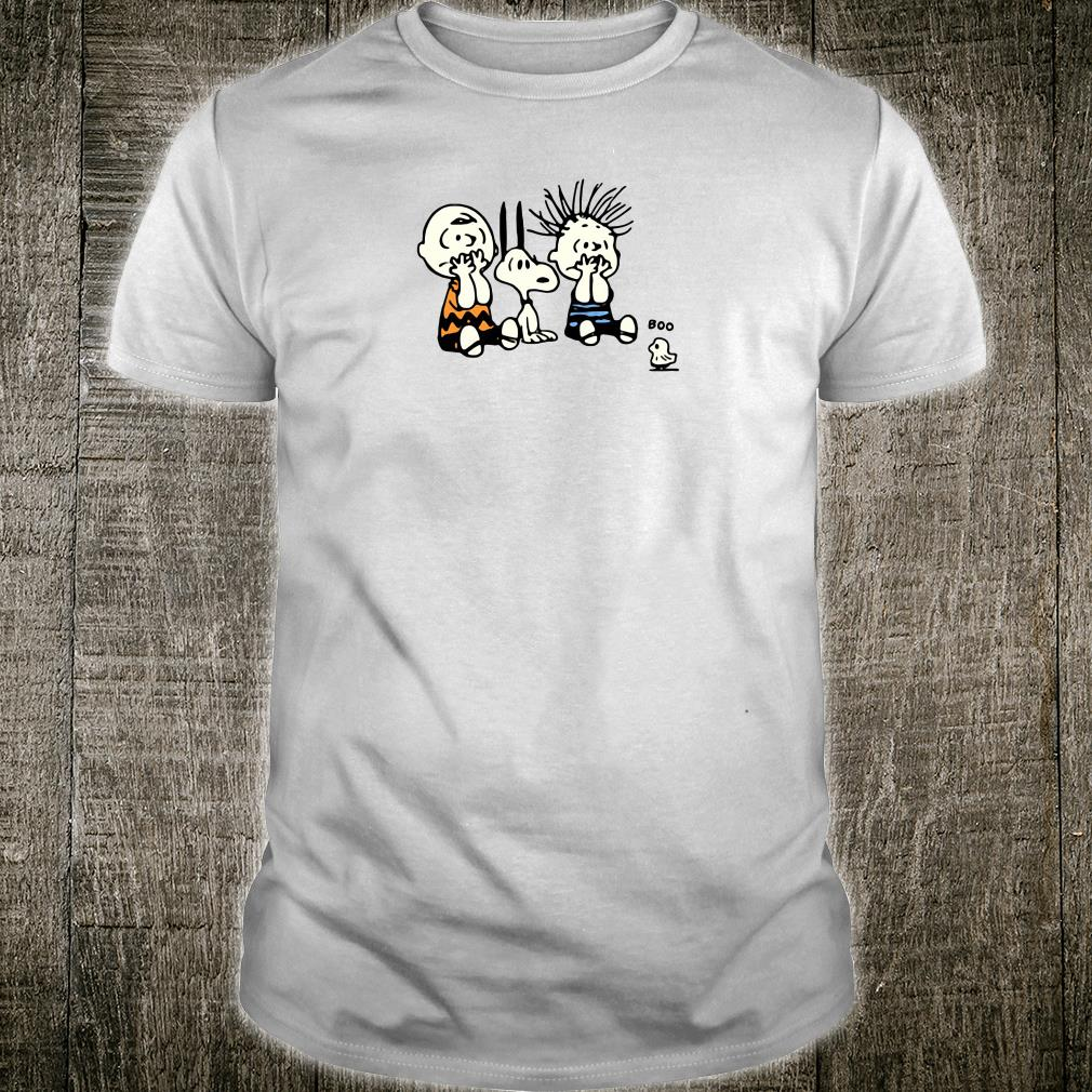 Charlie Brown Snoopy Pig-Pen OMG Boo ghost shirt