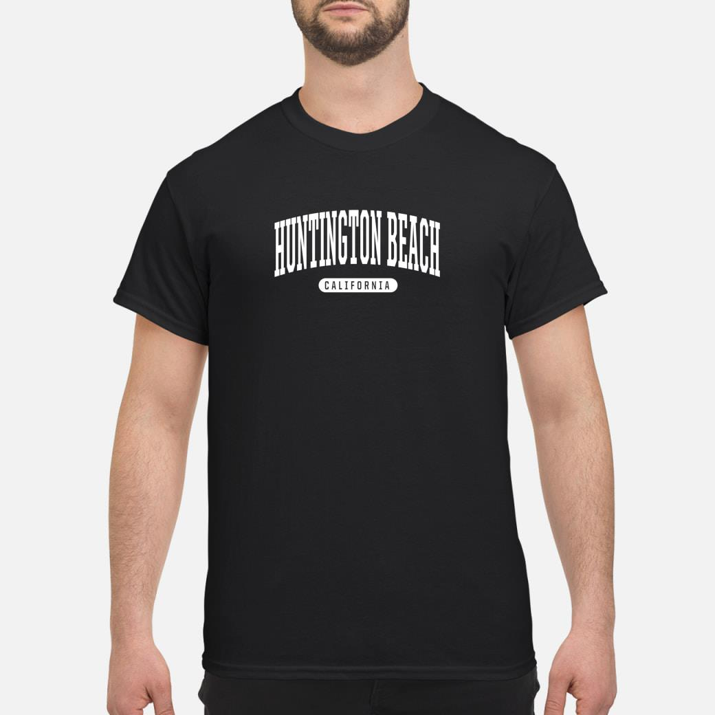 College Style Huntington Beach Calinia Souvenir Shirt