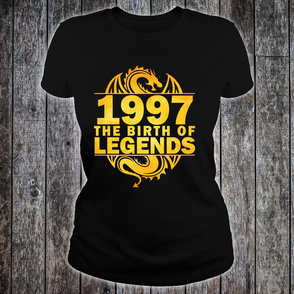 Costomer 1997 The Birth Of Legends 23 Yrs Old,23rd bday Shirt ladies tee