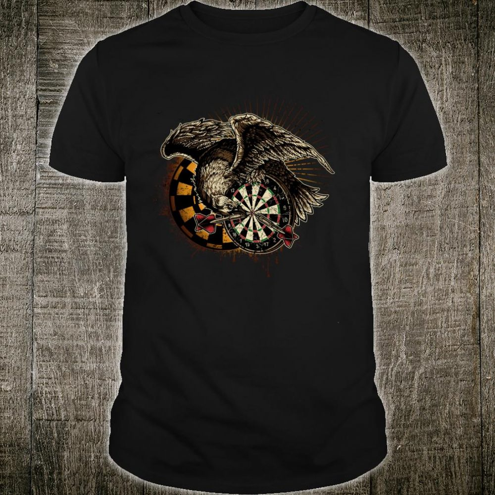 Dart Eagle Bullseye Favorite piece for Fans & Pros Dart Shirt