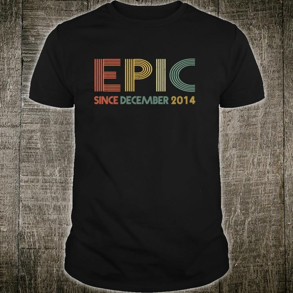 Epic Since December 2014 5th Birthday Shirt