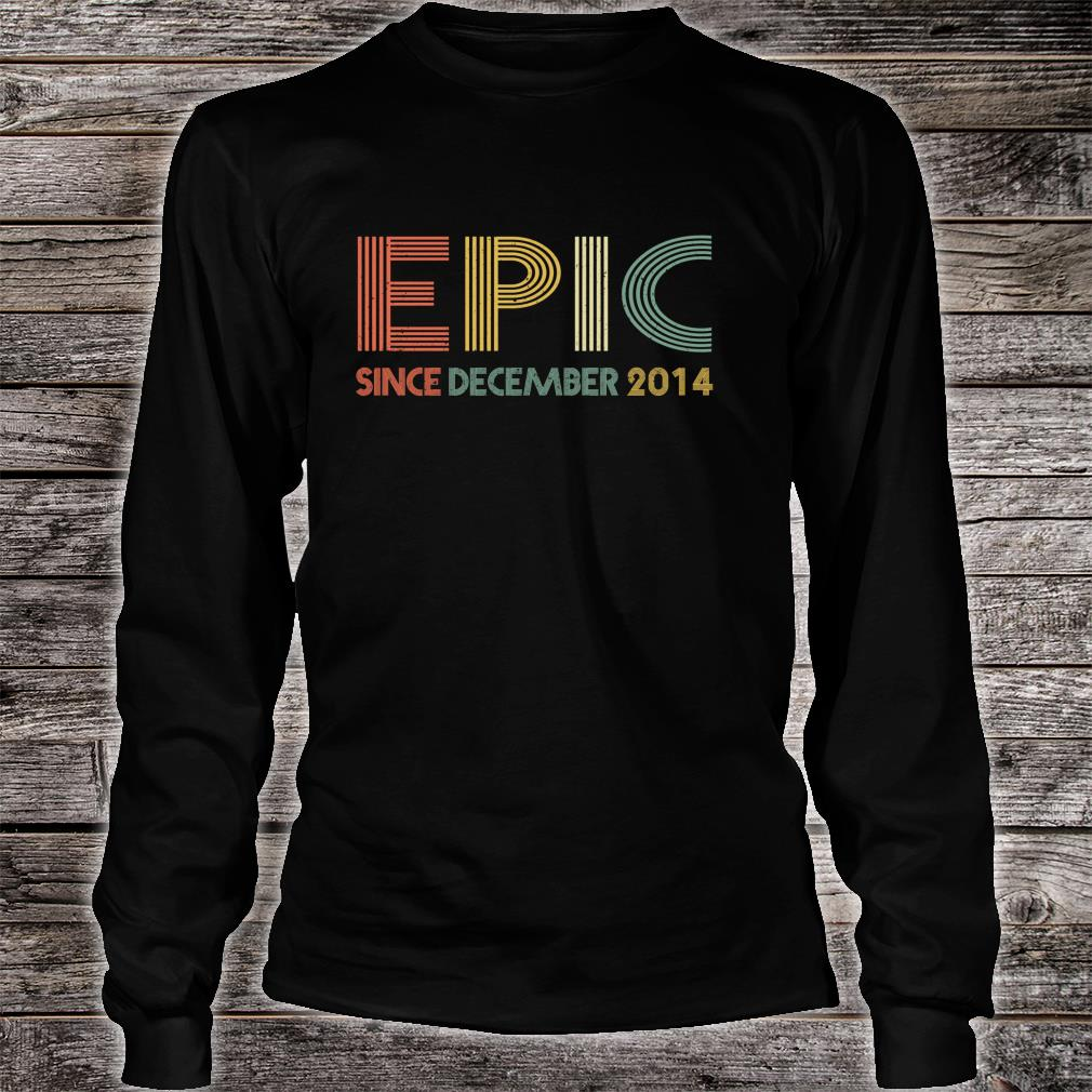 Epic Since December 2014 5th Birthday Shirt long sleeved