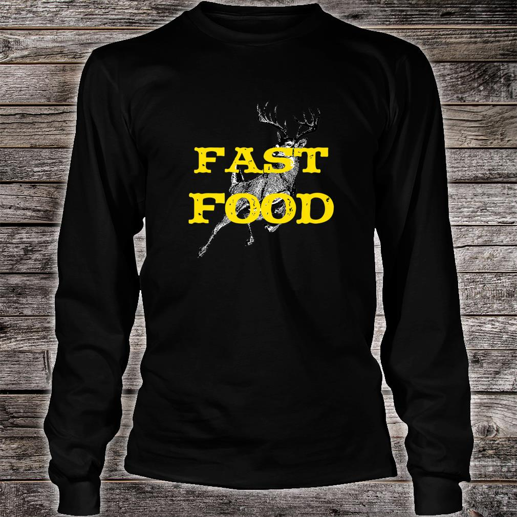 Official Funny Bow Hunting Gear Fast Food Retro Deer And Archery Shirt Hoodie Tank Top And Sweater