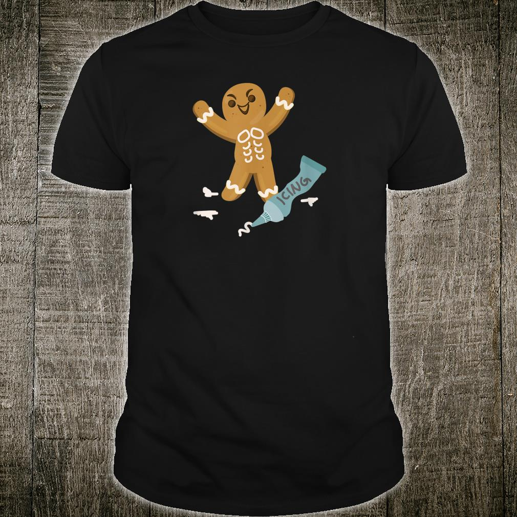 Gingerbread Icing Adult Shirt