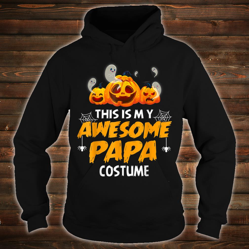 Halloween This Is My Awesome Papa Shirt hoodie