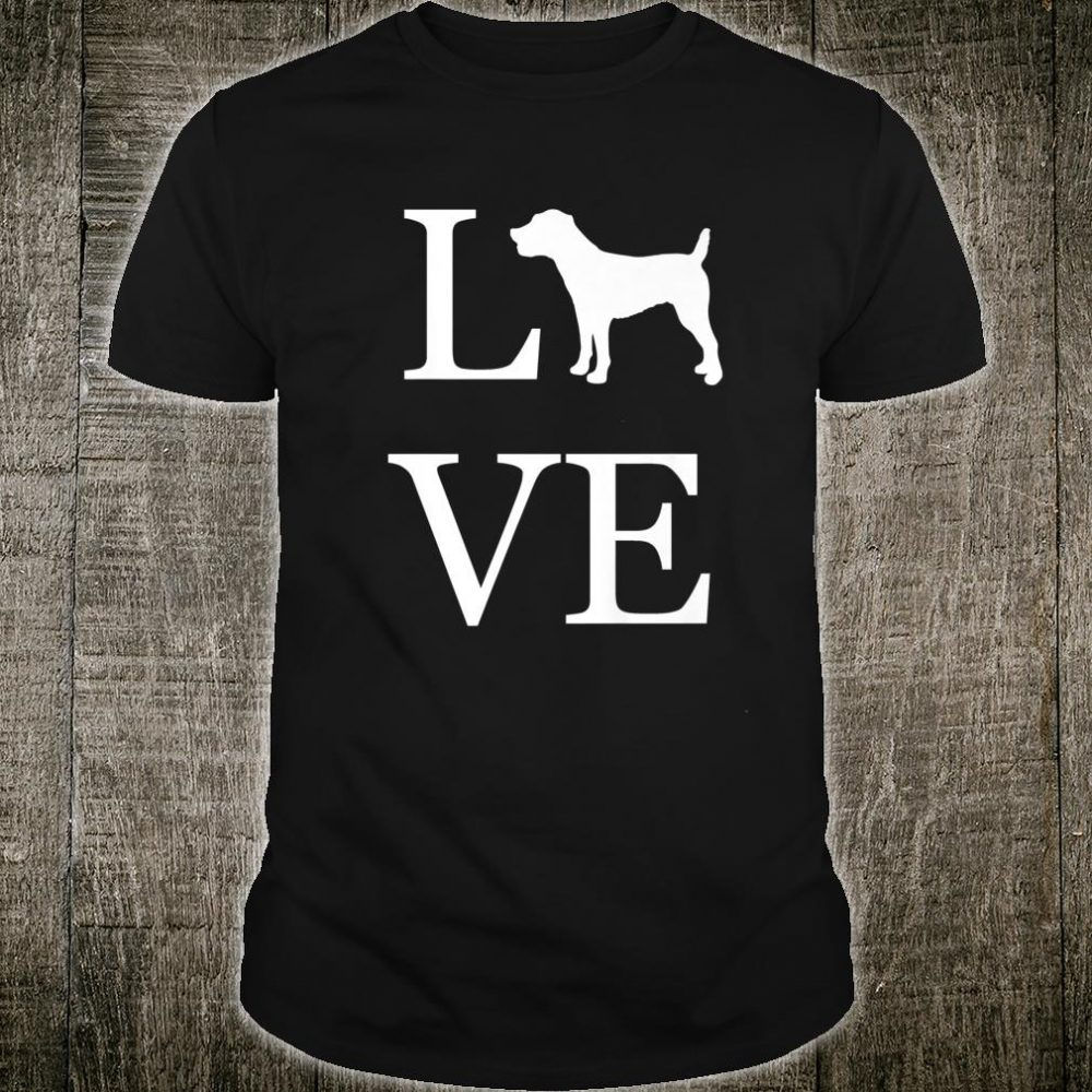 Love Jack Russell Terrier Dog Pet Owner Idea Mom Shirt