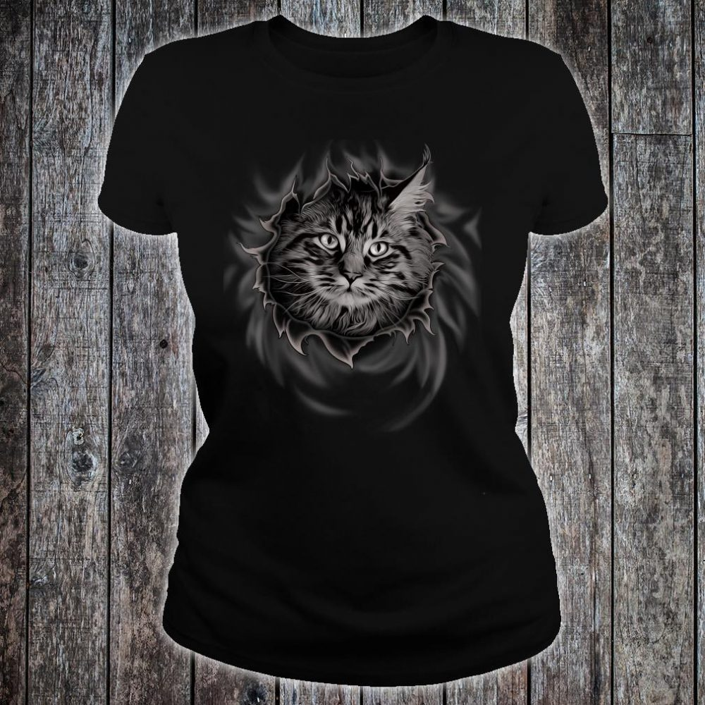 Maine Coon Cat Shirt ladies tee