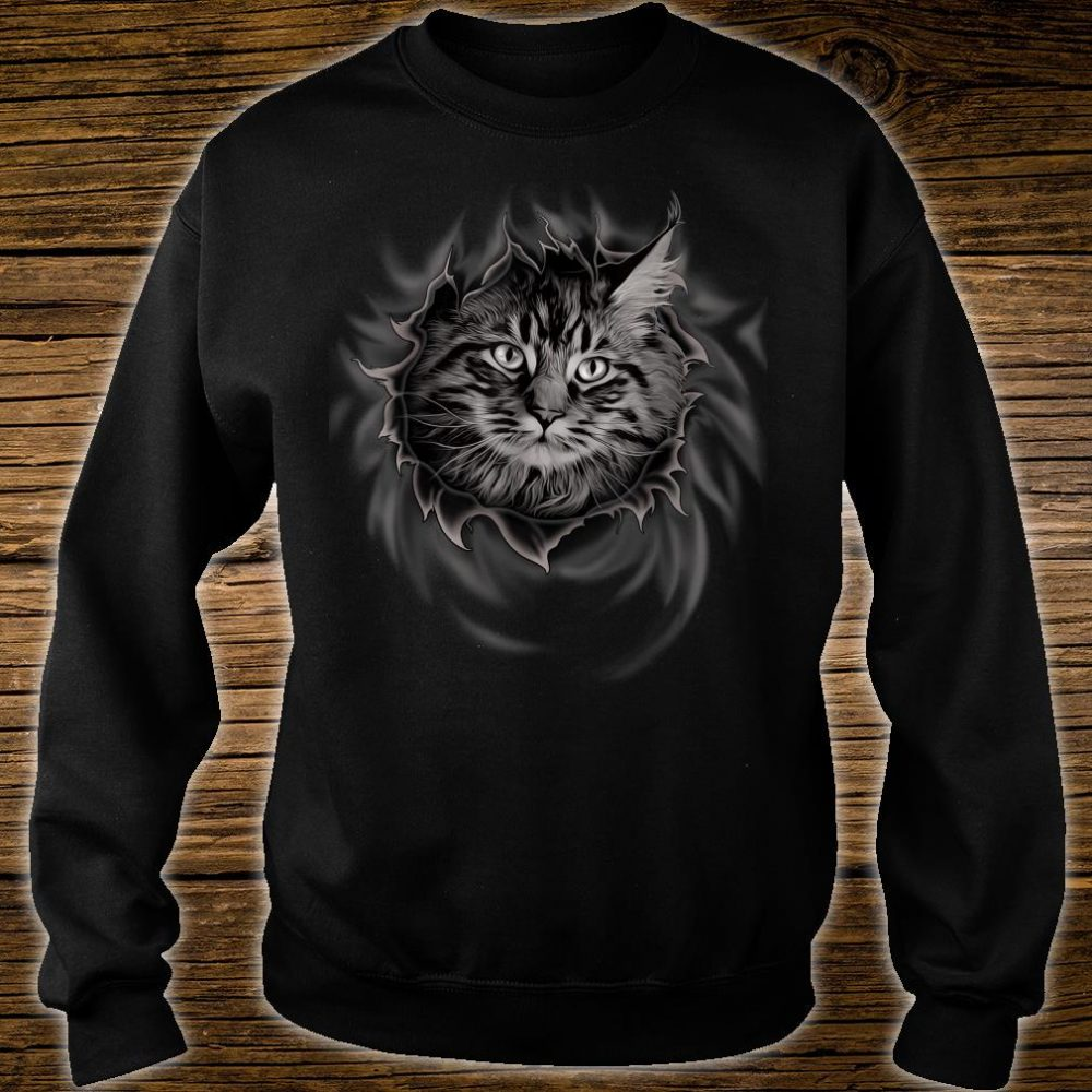 Maine Coon Cat Shirt sweater