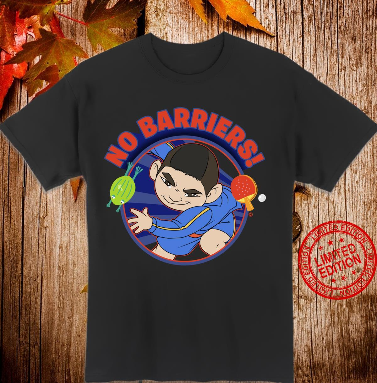 Over The Moon Chin No Barriers Shirt