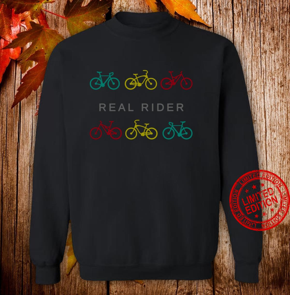 Real Rider Bicycle Shirt sweater
