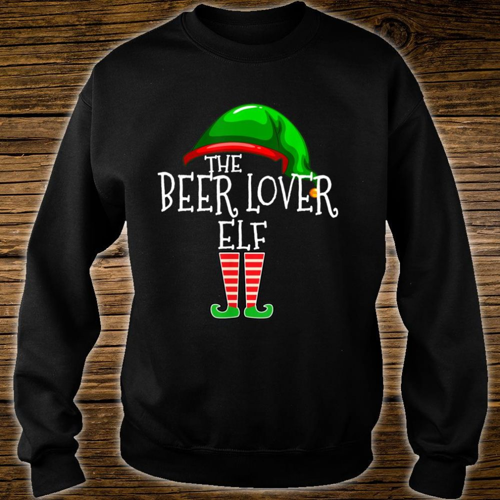 The Beer Elf Family Matching Group Christmas Shirt sweater