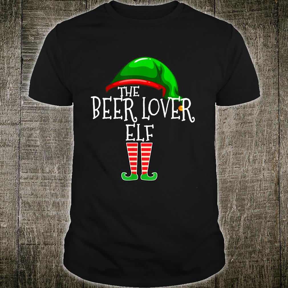 The Beer Elf Family Matching Group Christmas Shirt