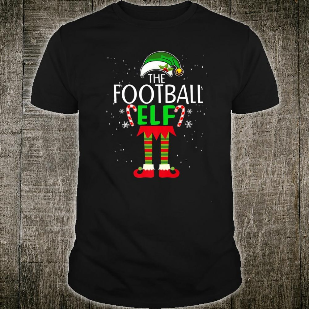 The Football Elf Family Matching Group Christmas Shirt