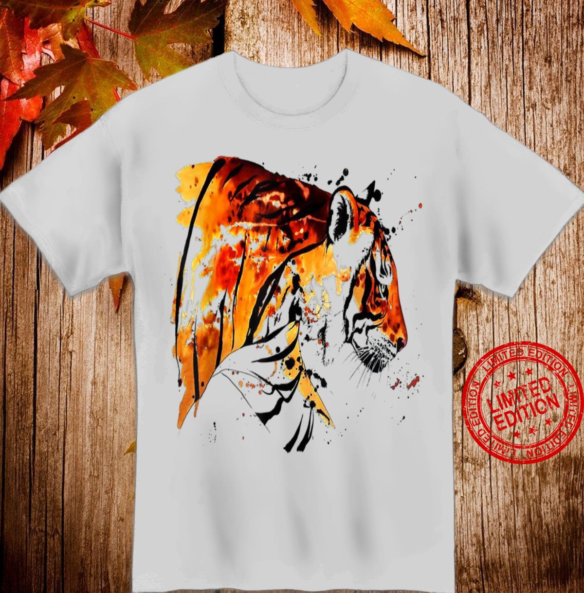 Tiger animal print Vintage Tiger Shirt