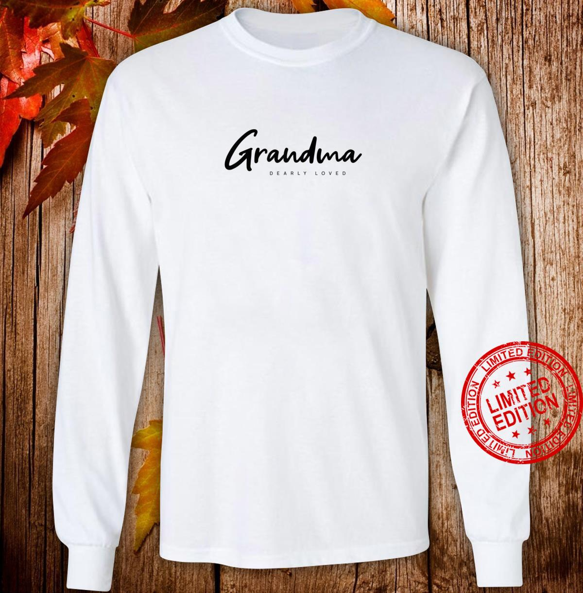 Womens Grandma Shirt long sleeved